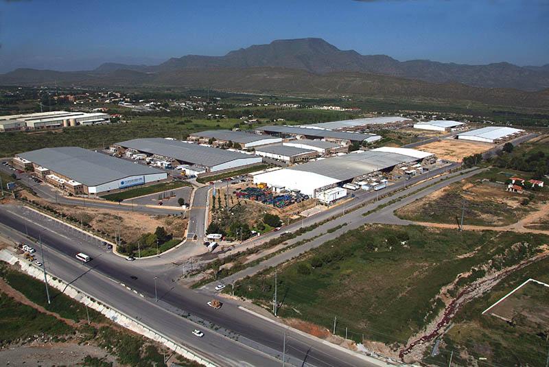 Maquiladora locations in Mexico. Saltillo Coahuila