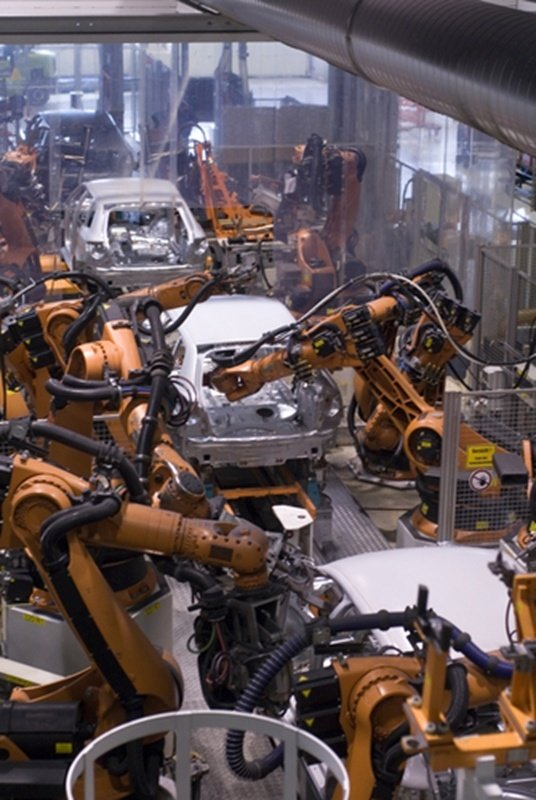 Mexico's vehicle production sector is thriving as shown as seen though the amount a vehicles being produced in Mexico in factories like the one pictured.