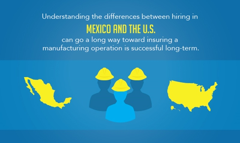 Before manufacturing in Mexico, businesses must understand differences in the hiring process to ensure successful longterm operations.