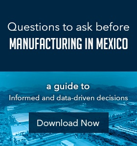 Ebook Questions to ask before Manufactuing in Mexico